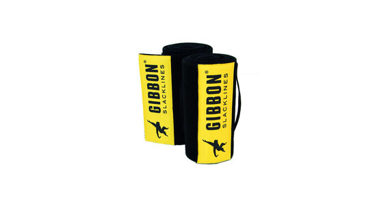 GIBBON Tree Wear slackline Set XL geel/zwart